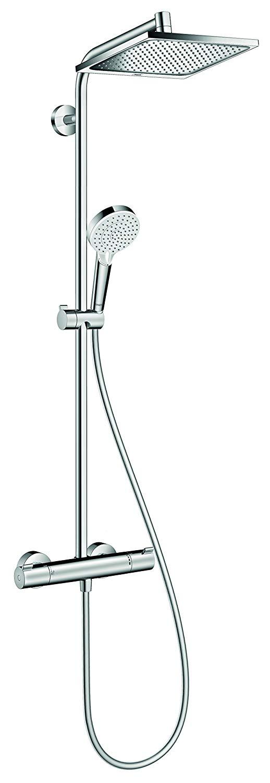 Hansgrohe Colonne de Douche Showerpipe Crometta E 240 Mitigeur Thermostatique Douche Chrome 27271000