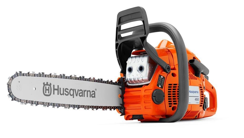 Tronçonneuse thermique HUSQVARNA 450 e-series - Guide 45cm