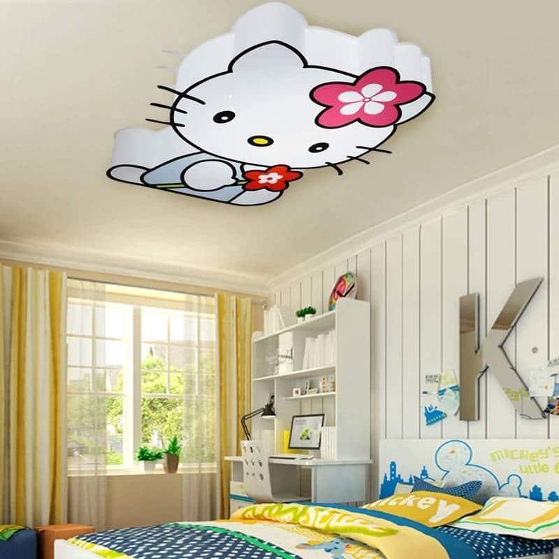 plafonnier LED chambre enfant